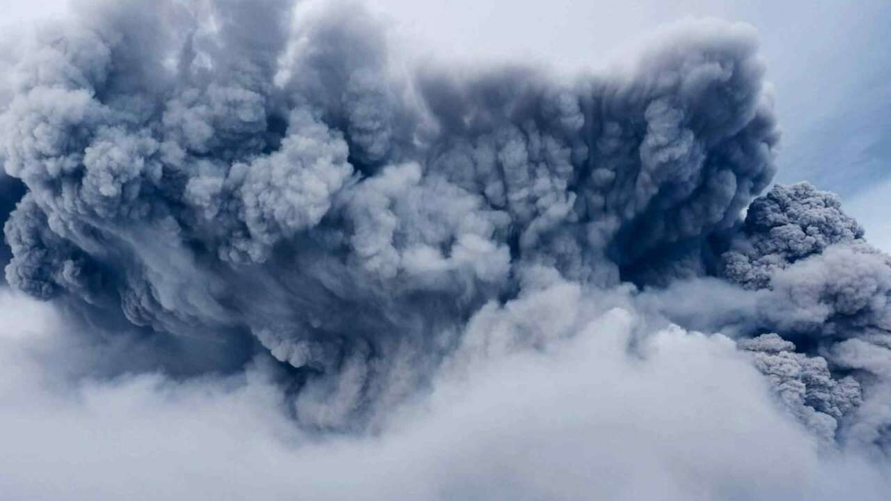 What Would Happen If a Hurricane Hit an Erupting Volcano