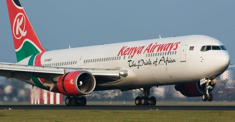 KQ Kenya Airways