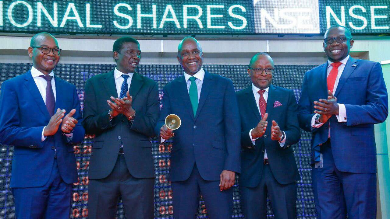 KCB Lists additional shares in NBK deal.