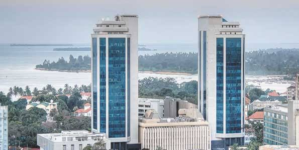Image of Bank of Tanzania building