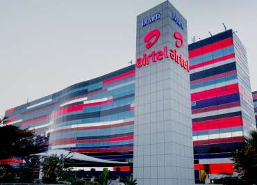 Image of Airtel headquaters