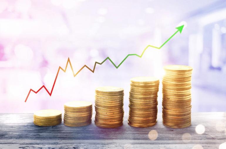 Image of increasing bonds in the market report