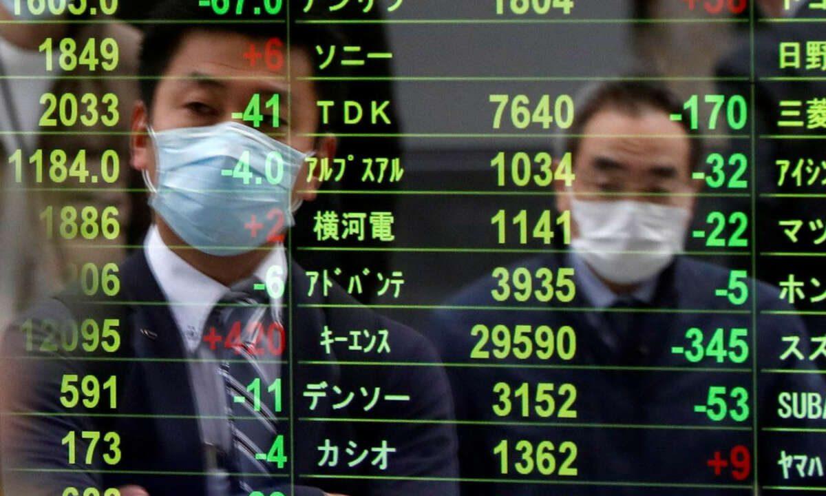 Asian Markets Edge Higher, Hong Kong's Hang Seng Index Jumps Nearly 2%