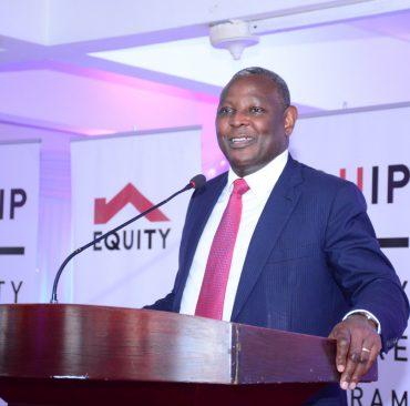 Equity Bank CEO Dr James Mwangi