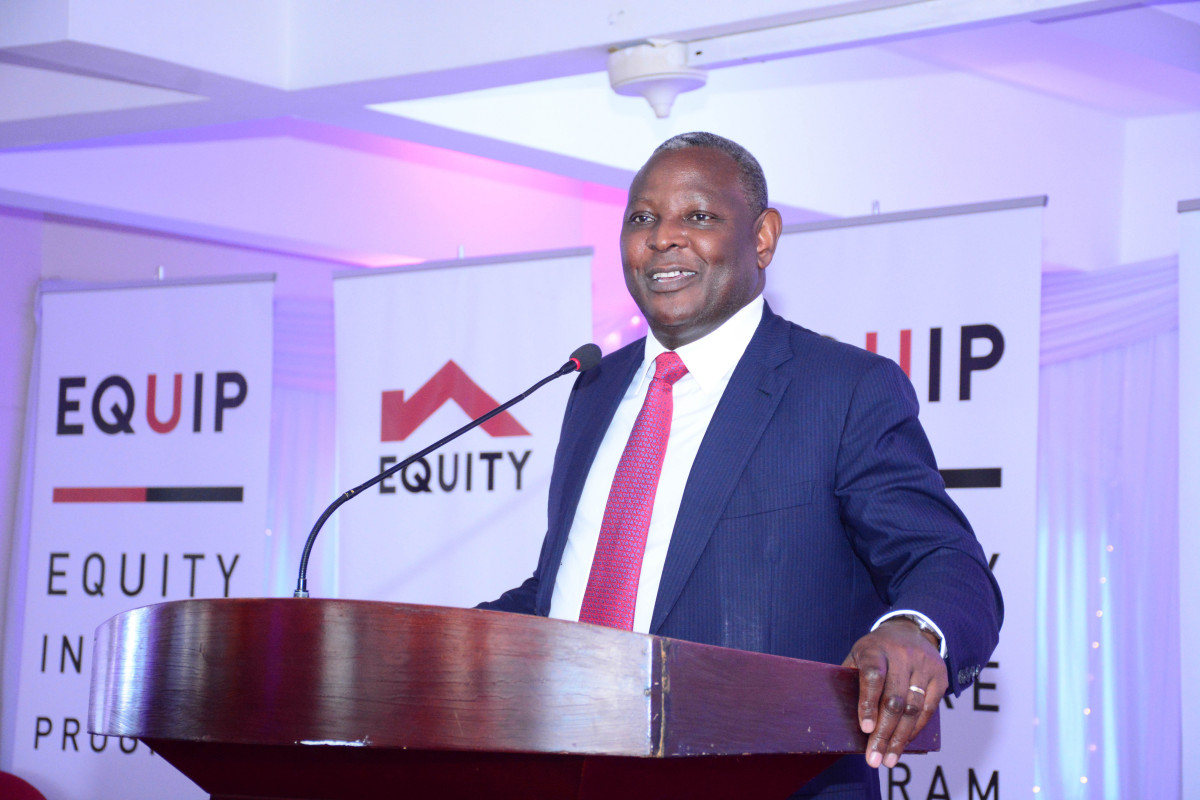 Equity Group CEO Dr James Mwangi