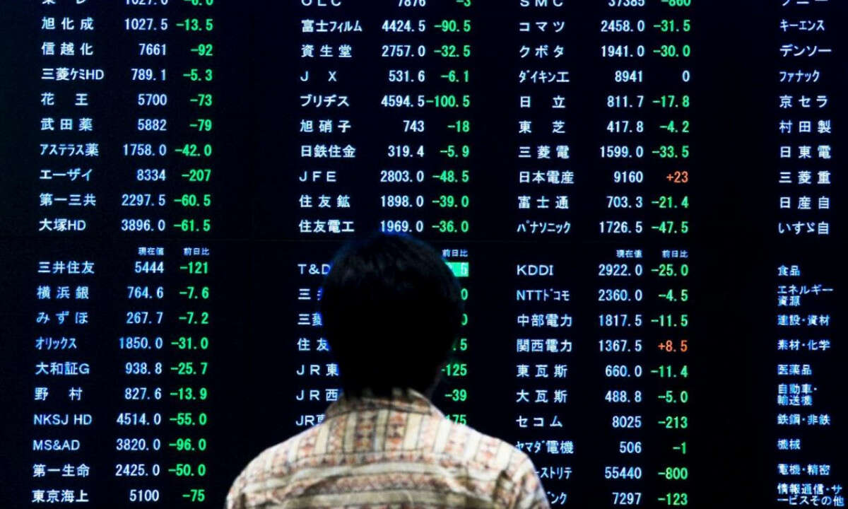 Asian Markets Mostly Higher Despite Trump's Sentiments on Stimulus Negotiations