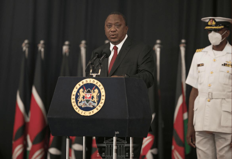President Uhuru Kenyatta Urges Banks to Revise Upwards the Minimum Cash Transactions Limit