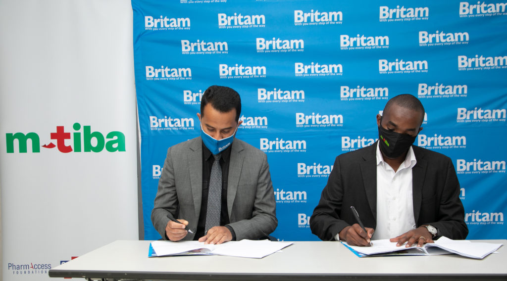 Britam Partners with M-Tiba on Digital Medical Insurance Cover