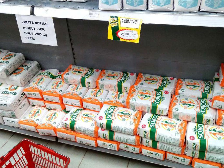 Maize Flour Prices Falls to its Lowest in 2 Years