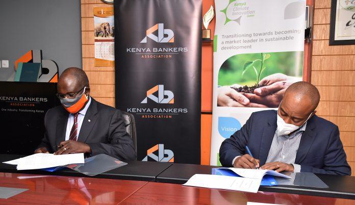 KBA, KCIC Sign Deal Aimed at Advancing Green Financing in Kenya