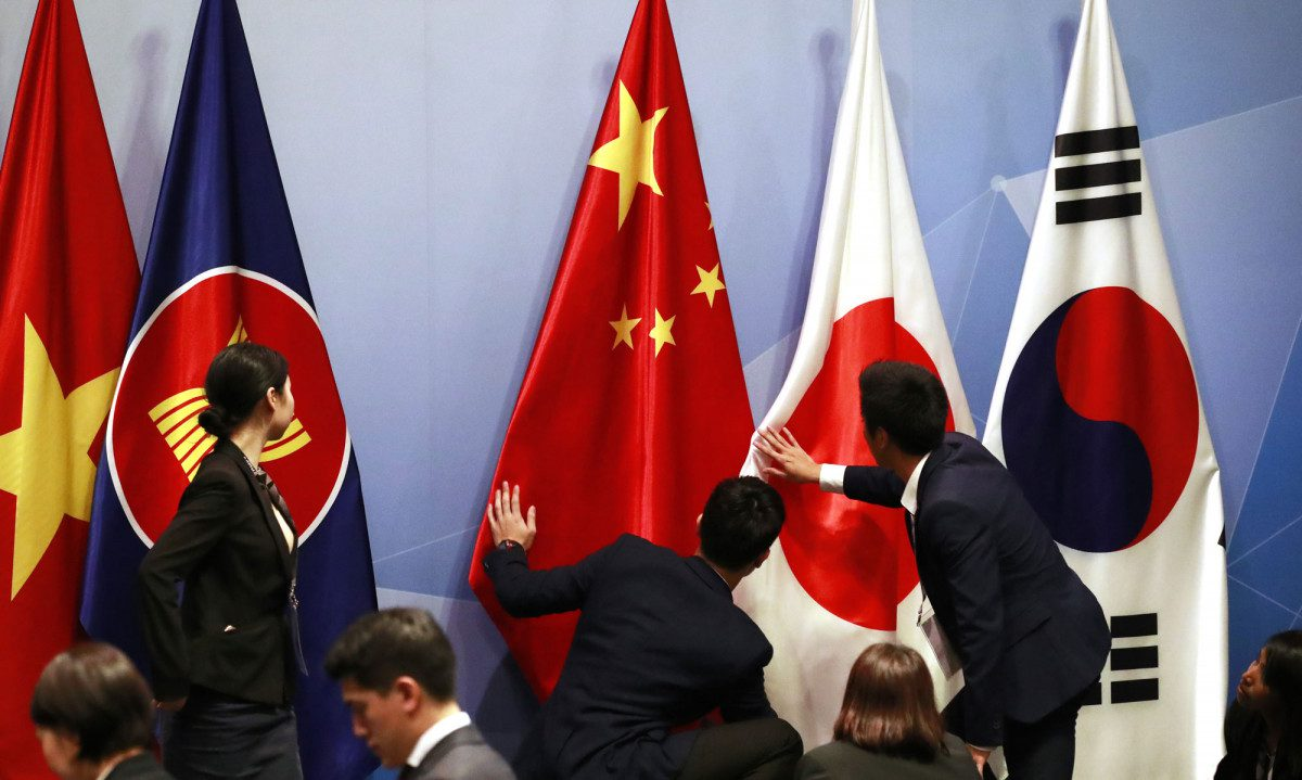 Asian Markets Rise as Countries in Region Sign World's Largest Trade Alliance