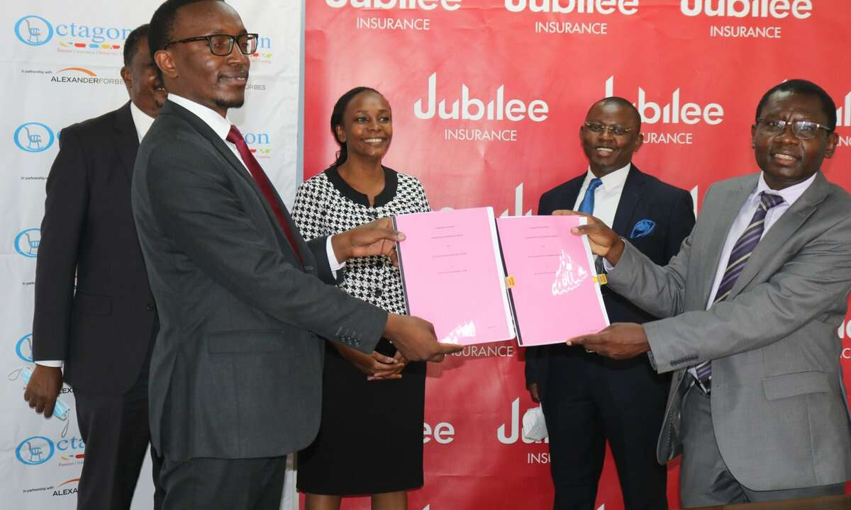 Jubilee Insurance and Octagon to Provide Post – Retirement Medical Cover