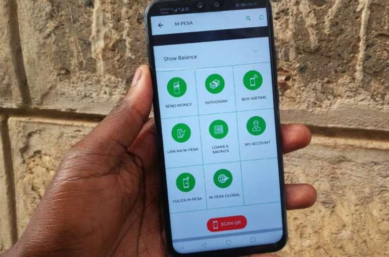 Image of Safaricom app (My safaricom)