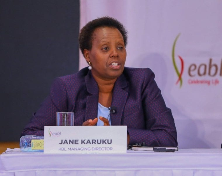 Jane Karuku Takes Over as EABL Group Managing Director from Andrew Cowan