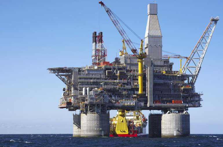 Oil Prices oil rig image