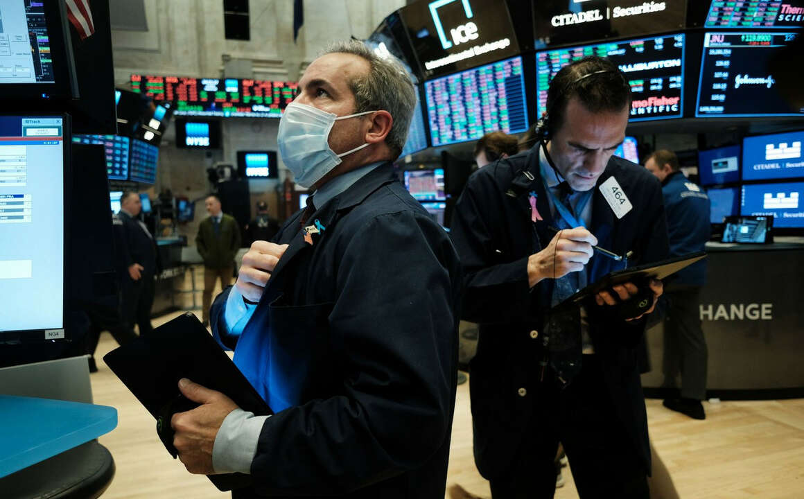 Wall Street Drops as Investors Raise Flag on Inflation Concerns