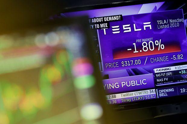 Tesla nasdaq S&P 500