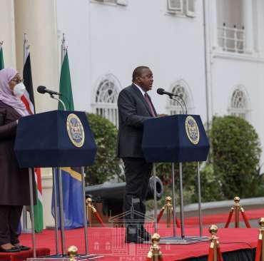 Tanzania and Kenya president