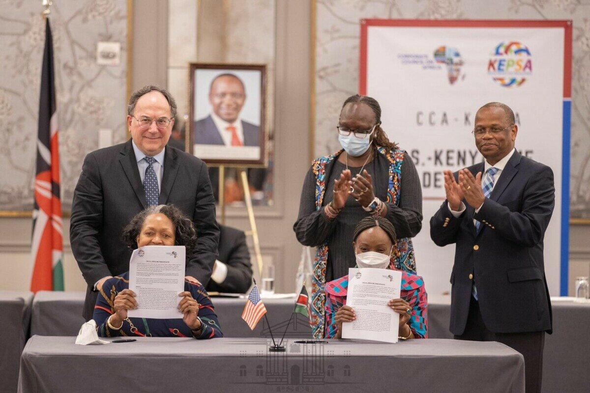 KEPSA and CCA Sign Kenya-U.S SME Trade Initiative Agreement to Support SMEs